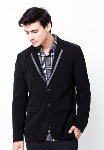 BLP-PB050/BLAZER-W-MICHAEL-LIST-BLACK-M