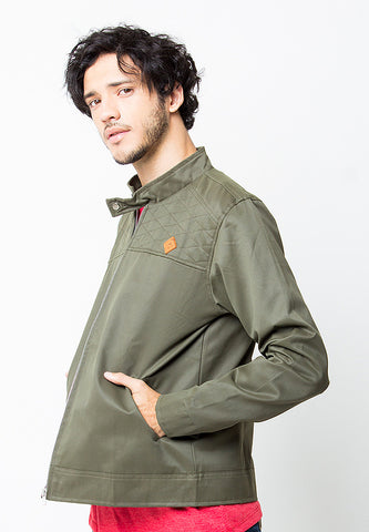 BLP-PC011/JACKET-I-LTR-GRANT-BLPBR-GREEN-M