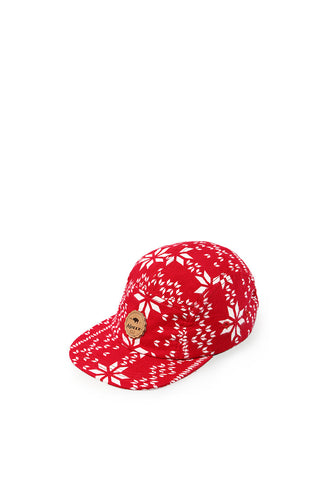 BLP-PC014/HAT-I-5PNL-BRAVE-MOTIVE-RED