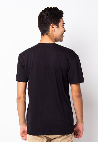 BLP-PF036/TSHIRT CP HEADPHONE BLACK-M
