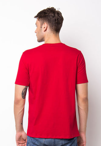 BLP-PF041/TSHIRT-WL-MYLIFE-RED-M
