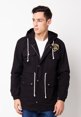BLP-PG025/JACKET-I-PARKA-MARK-BDR-BLACK-M