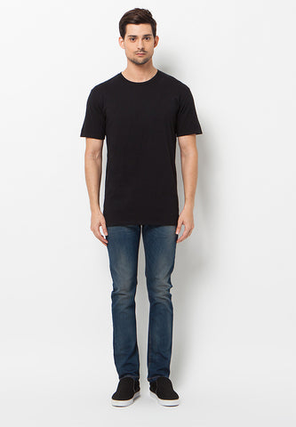 BLP-QC006/TSHIRT-H-CP-PLAINED-02-BLACK-M