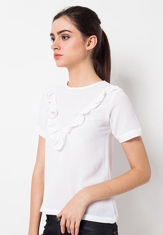 BLP-QC002/BLOUSE-R-ADDIE-RMP-02-WHITE-F