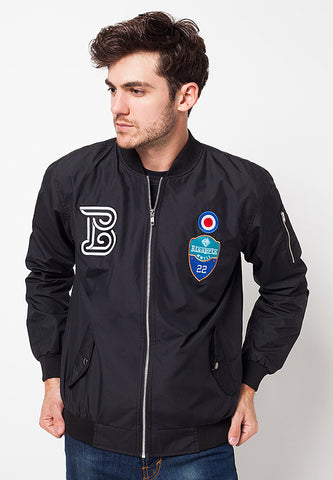 BLP-QC011/JACKET-I-BOMBER-MICHAEL-BDR-BLACK-M