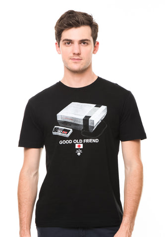 BLP-QF007/TSHIRT-E-GOODOLDFRIEND-BLACK-M