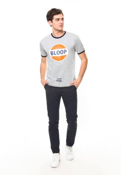 BLP-QF011/TSHIRT-E-BLOOP-RING-MISTYGREY-M