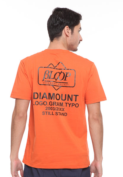 BLP-SE009 / BLOOP TSHIRT E STAND ORANGE M