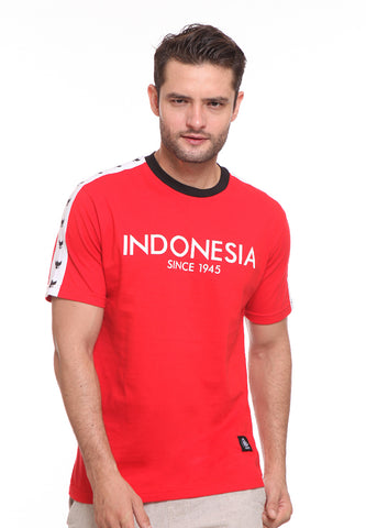 END-SE010 / ENDORSE TSHIRT E SINCE 1945 RED M