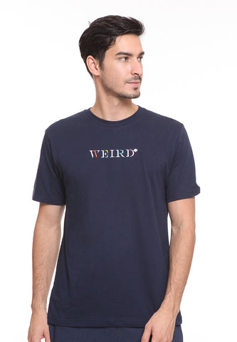 BLP-SE013 / BLOOP TSHIRT E WEIRD NAVY BLUE M