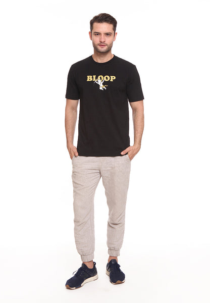 BLP-SF001/BLOOP TSHIRT E BABY CUPID BLACK M