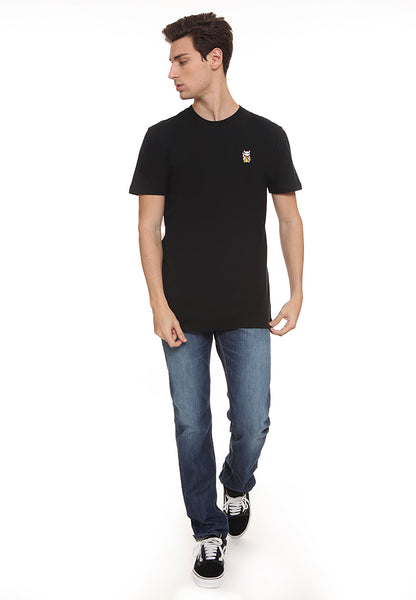 BLP-SL015 / BLOOP TSHIRT HD PATCH CAT BLACK M
