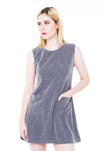 END-PA011/DRESS-R-NIXIE-POCKET-MISTYGREY-F