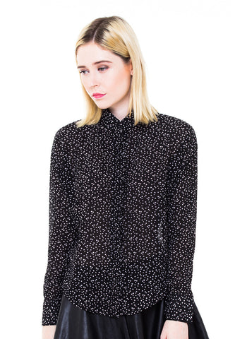 END-PA012/BLOUSE-R-AMELIA-POLKA-BLACK-F