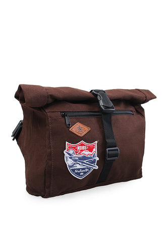 END-PA014/BAG-MB-WAIST-7NDRS-PLANE-BROWN