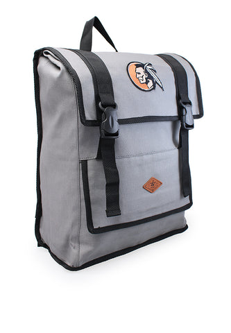 END-PA015/BAG-MB-BACKPACK-INDIAN-GREYBLACK