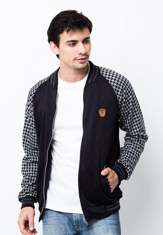 END-PA023/JACKET-I-BB-ADAM-PIXEL-BLACK-M