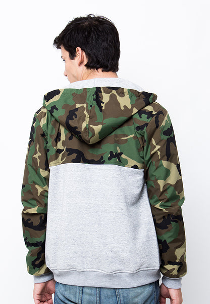 END-PA025/JACKET-I-WILLIAM-ARMY-MISTYGREY-M