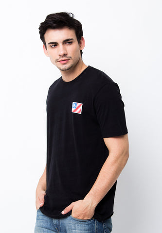 END-PA037/TSHIRT-B-B-AMENDORSE-BLACK-M