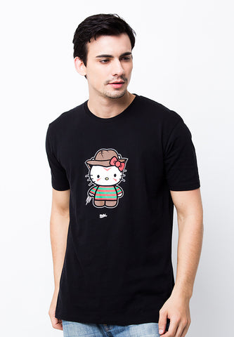 END-PA040/TSHIRT-B-HELLOKITTY-BLACK-M
