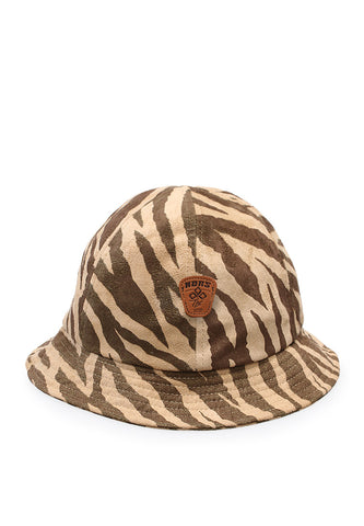 END-PA056/HAT-I-BUCKET-ZEBRACROWN-TANBROWN