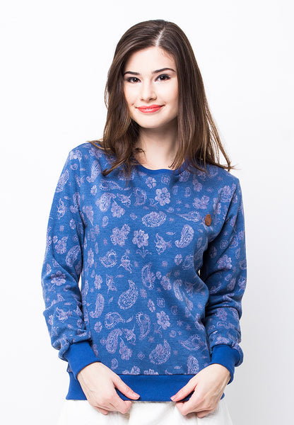 END-PB012/SWEATER-I-PAISLEY-MTF-BLUE-F