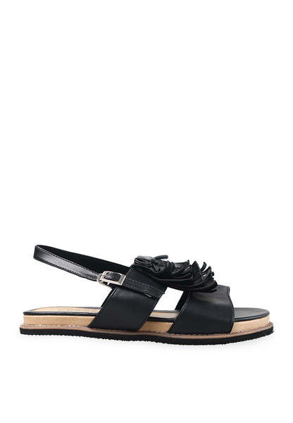 END-PB004/SHOES-MI-LORETTAFRINGLE-BLACK-F