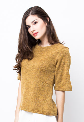 END-PB006/BLOUSE-R-AMELIA-KNIT-GOLDENROD-F
