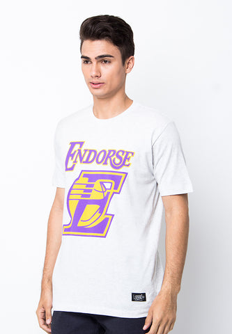 END-PB023/TSHIRT-WL-LAKERS-MISTYWHITE-M