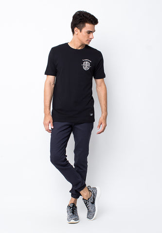 END-PB027/TSHIRT-WL-SHIELD-BLACK-M