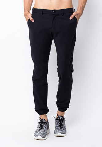END-PB031/PANTS-LP-W09C-JGR-LUCAS-BLACK-M