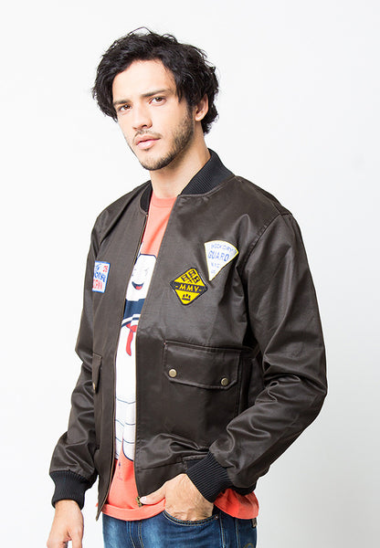 END-PC010/JACKET-I-LTR-MILES-BOMBER-BROWN-M