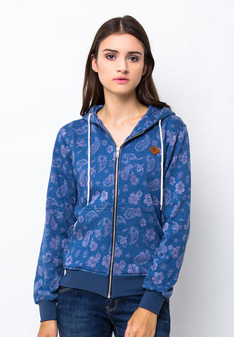 END-PC017/JACKETI-SPORTY-FLOWERS-BLUE-F