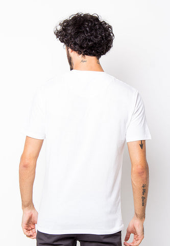 END-PD002/TSHIRT-B-SHOWMAN-WHITE-M