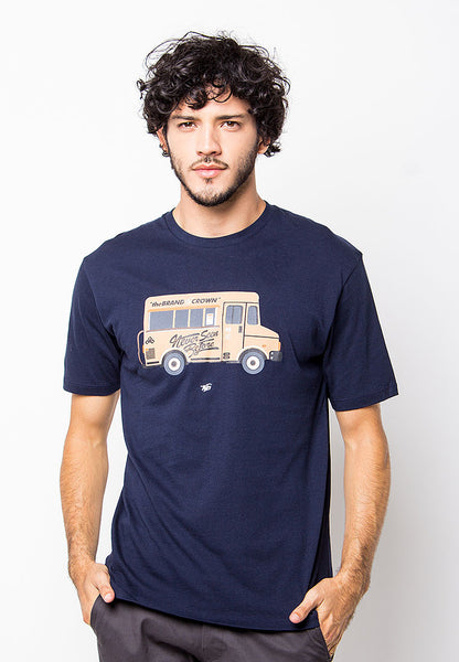 END-PD004/TSHIRT-B-BUS-NAVYBLUE-M