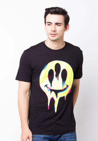 END-PE002/TSHIRT-B-SMILEMELT-BLACK-M