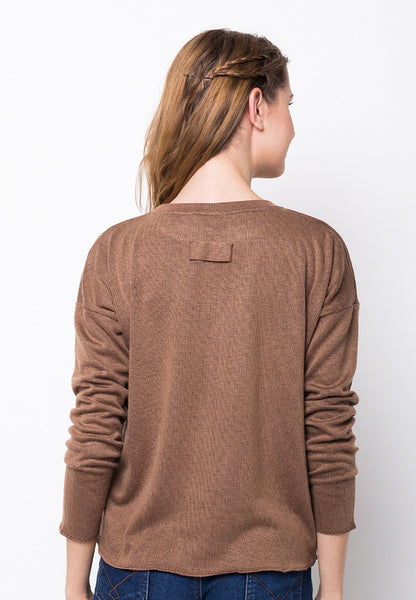 END-PE054/SWEATER-RDULCINEA-CDR-BROWN-F