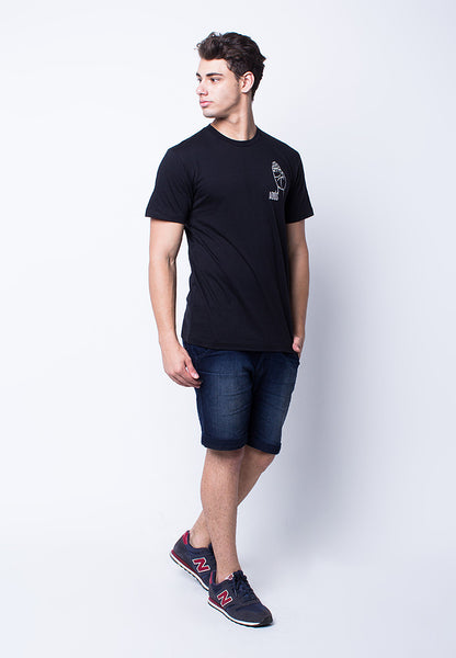 END-PE071/TSHIRT-H-ADIOS-BLACK-M