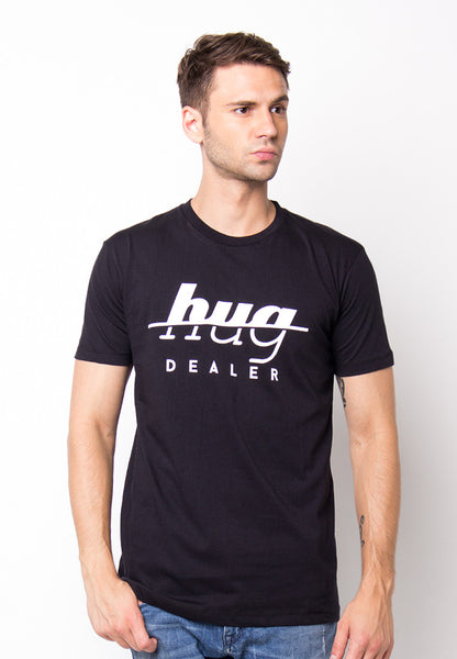 END-PF014/TSHIRT-H-HUGDEALER-BLACK-M