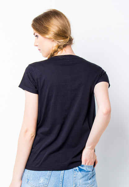 END-PF015/TSHIRT-H-MEXTACO-BLACK-F