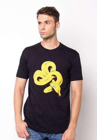 END-PF018/TSHIRT-H-BANANA-BLACK-M