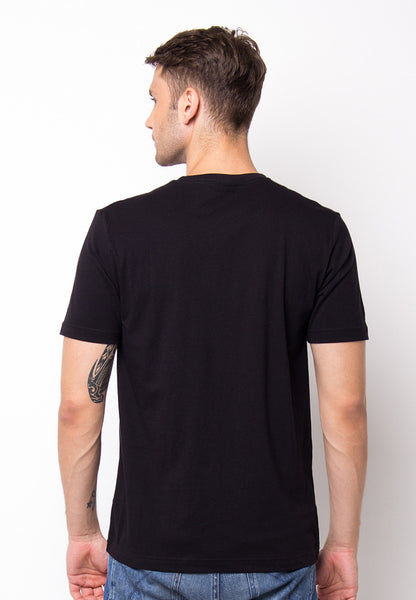 END-PF031/TSHIRT-E-SUNDAYMORNING-BLACK-M
