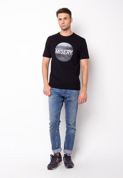 END-PF032/TSHIRT-E-MISERY-BLACK-FM