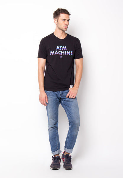END-PF042/TSHIRT-WL-ATMMACHINE-BLACK-M