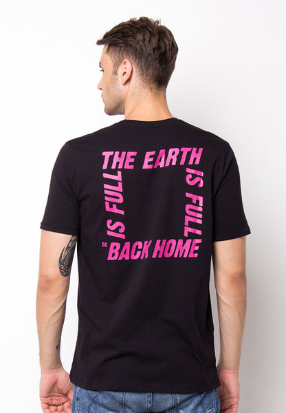 END-PF047/TSHIRT-WL-BACKHOME-BLACK-M