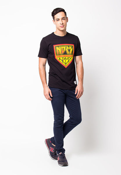 END-PF051/TSHIRT-WL-KISSARMY-BLACK-M