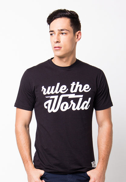 END-PF064/TSHIRT-B-RULETHEWORLD-BLACK-M