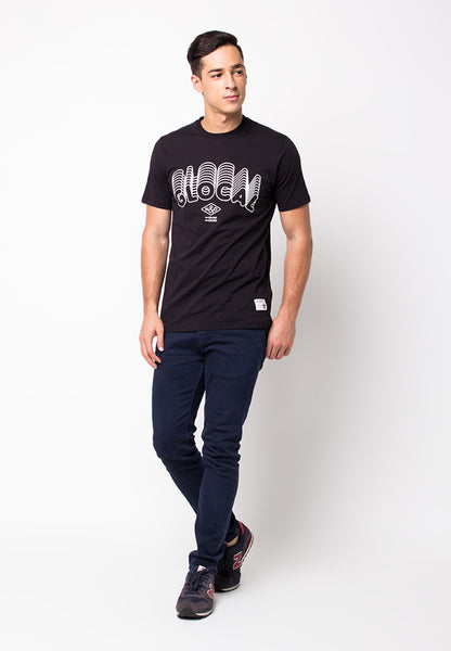 END-PF066/TSHIRT-B-GLOCAL-BLACK-M