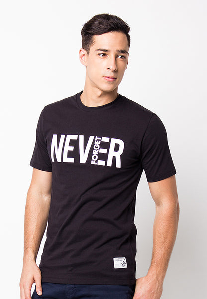 END-PF067/TSHIRT-B-NEVERFORGET-BLACK-M