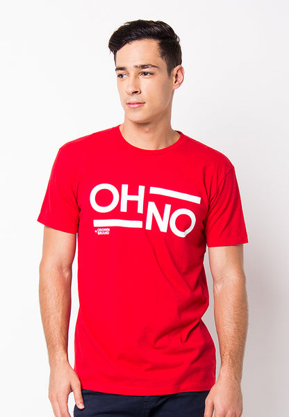 END-PF070/TSHIRT-H-OHNO-RED-M